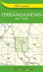 Junsele Karta Sverige.705 Junsele Terrangkartan 1 50000 Av Lantmateriet