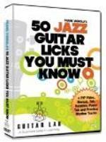 50 Jazz Guitar Licks you MUST know av Sweden Midi Music