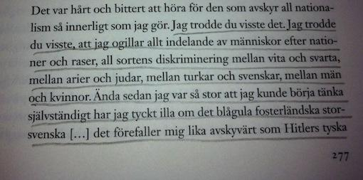 Astrid Lindgren avskydde all nationalism